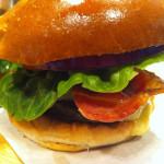 Cheese and Bacon Burger Bridge