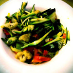 Sautéed mixed vegetables of the day