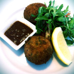 Crispy Cornish fishcake