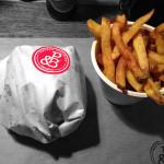 Patty Bun Hamburger and Chips